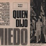 1925 – ¡Quién dijo Miedo!