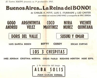 Buenos Aires la Reina del Bono