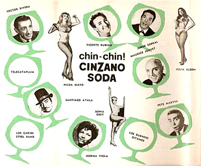 CHIN... CHIN... VERANO Y SODA